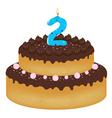 2 years old birthday cake