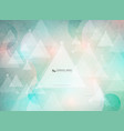 abstract triangles pattern design futuristic vector image vector image