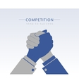 Business competition vector image vector image