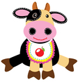 cow toy vector image vector image