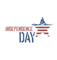 independence day composition vector image