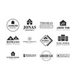 Property badge and logo design good for print