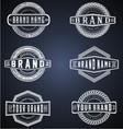 Vintage Brand Labels vector image vector image