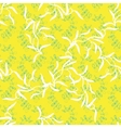 abstract foliar seamless pattern vector image vector image