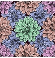 Hand draw seamless floral pattern vector image vector image