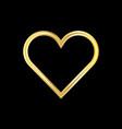 happy valentine symbol vector image vector image