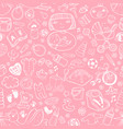 seamless background bacare vector image