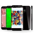 Smartphonecolor vector image