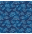 Winter abstract pattern vector image vector image