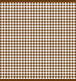 brawn tablecloths patterns on the background vector image vector image