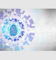 fingerprint key unlock protection vector image