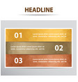 infographic banner with 3 steps