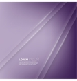 Purple abstract background with volume lines vector image vector image