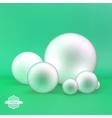 Spheres 3D vector image