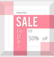 super sale inscription design template vector image