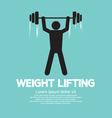 Weight Lifter Athlete vector image vector image
