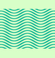 abstract wavy lines pattern design vector image vector image