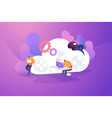 cloud gaming vector image vector image