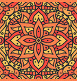 indian mandala pattern seamless design vector image
