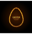 modern easter element design vector image