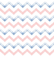 Rose quartz and serenity zigzag chevron grunge vector image vector image