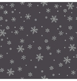 Snowflake pattern vector image vector image