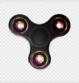 stock realistic spinner vector image