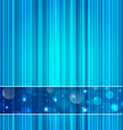 Techno abstract background striped texture vector image