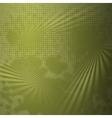 Grunge halftone dark background vector image