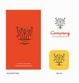 circuit company logo app icon and splash page vector image