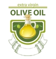 extra virgin olive oil vector image vector image
