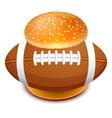 hamburger 06 vector image vector image