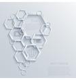 modern infographic element design Eps10 vector image vector image