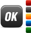 Ok icons vector image