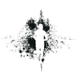 Runner background vector | Price: 1 Credit (USD $1)