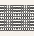 seamless pattern with geometric shapes repeating vector image vector image