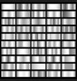 silver foil horizontal texture gradation vector image