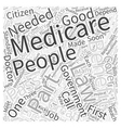 That Puzzle They Call Medicare Law Word Cloud vector image vector image