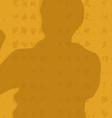 The man shows Kung Fu an original vector image vector image