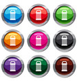 trash set 9 collection vector image vector image