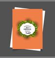 wishing you a cheerful holiday season christmas vector image
