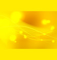 yellow shades abstract background with light vector image vector image