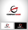 Arrow Logo Concept Design vector image vector image
