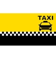 business taxi card vector image vector image