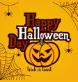 cartoon for halloween day vector image vector image