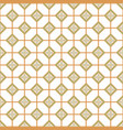 geometric azulejos portugal tile seamless pattern vector image vector image