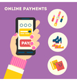 Mobile Payments vector image