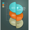 element for business and web design vector image