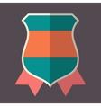 Green vintage badge vector image vector image