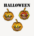 halloween cartoon symbol vector image